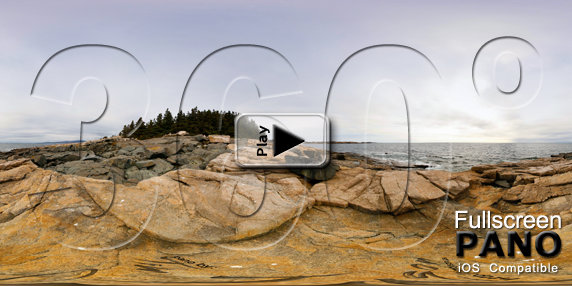 Schoodic Point 2 Pano Play Button