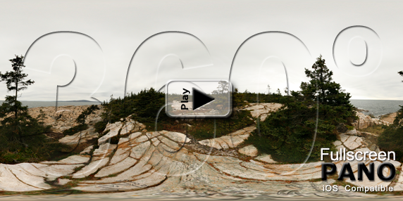 Schoodic Point 01 Pano Play Button