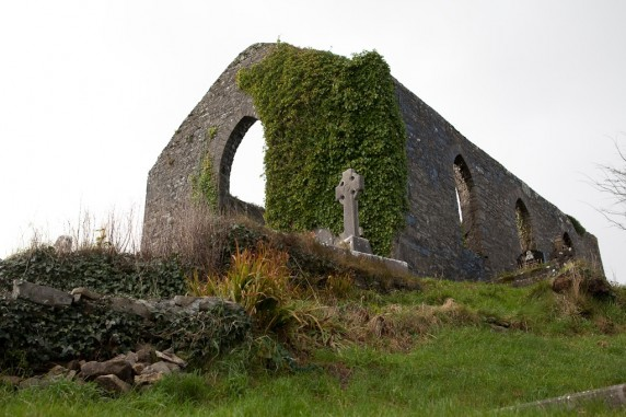 Cemetery in Clariecastle (on the way to the Cliffs of Moher from Dromoland Castle), Ireland
