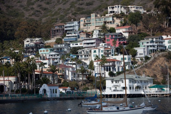 Avalon on Catalina Island, California