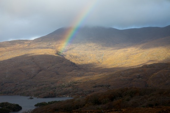 Rainbow in the Ring of Kerry, Ireland