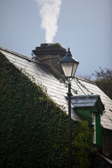 Smoking Chimney in Cong, Ireland