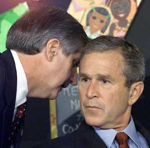 Bush Informed of 9-11 Attack