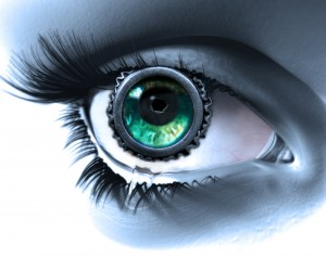 Sad Eye (cyborg version) by Roberto 'PixJockey' Rizzato Flickr CC