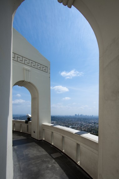 Los Angeles as Seen from Griffith Observatory