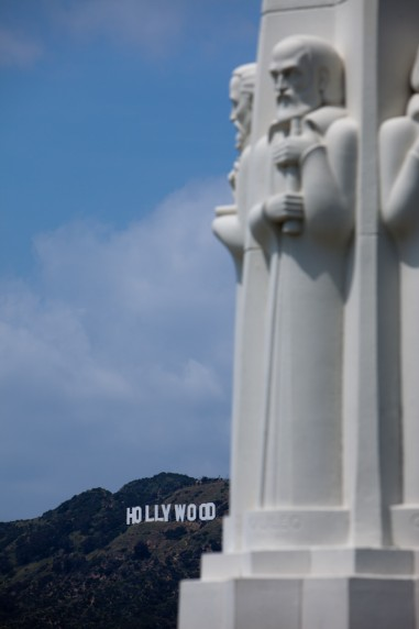 The Hollywood Sign as Seen from Griffith Observatory
