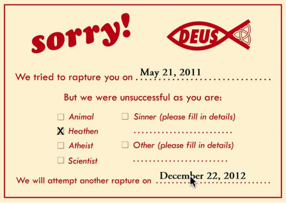 Rapture Failure Notification