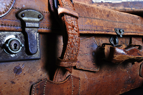 Vintage Leather Attache