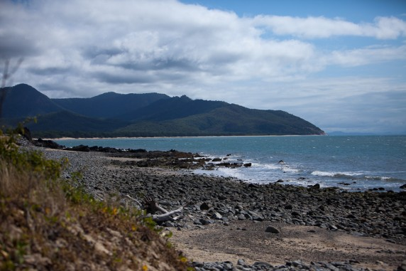 Rocky Cove Along Captain Cook Highway