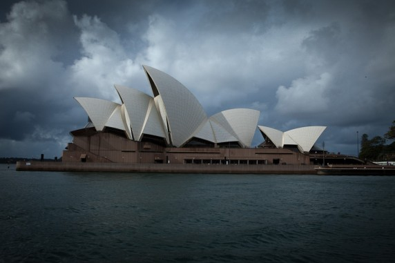 Sydney Opera House As Seen from the Ferry 01