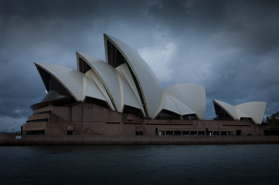 Sydney Opera House As Seen from the Ferry 02