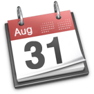 Aug31 iCal icon