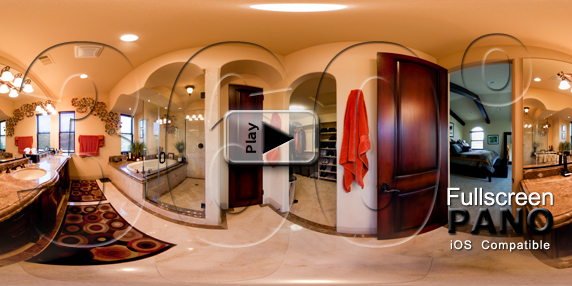 Poinsettia Master Bathroom Pano Play Button