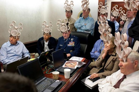 Princess Beatrice Royal Wedding Hat Meme - Situation Room