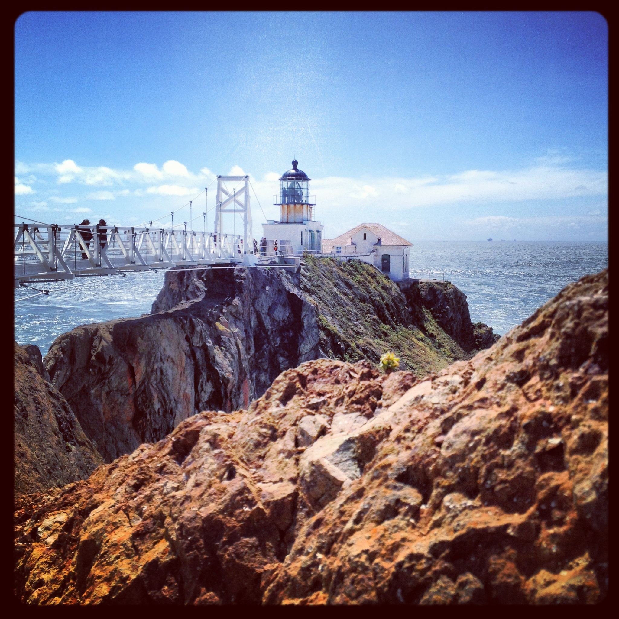Bridge at Point Bonita Lighthouse