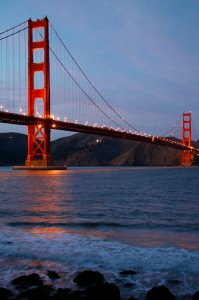 Golden Gate Bridge at Night, 2007
