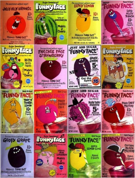 16 Funny Face Packets