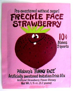 Freckle Face Strawberry Pack 1966