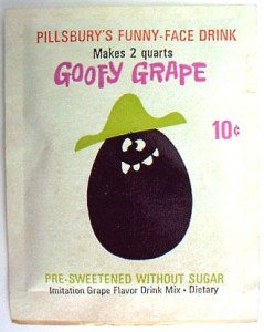 Goofy Grape Pack 1964