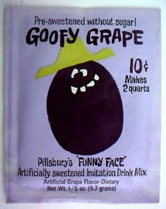 Goofy Grape Pack 1966