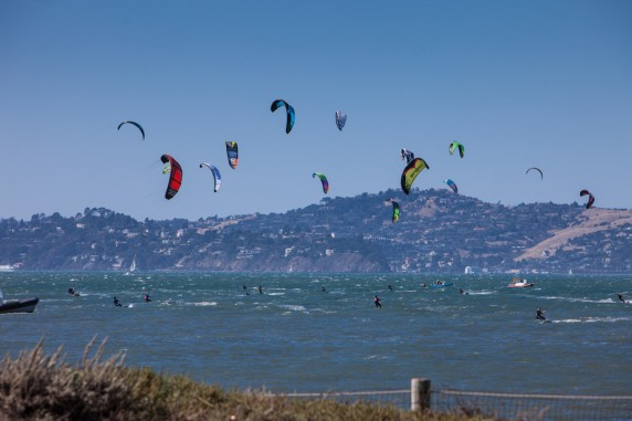 Kite Surfing Race