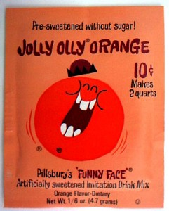 Jolly Olly Orange Pack 1966