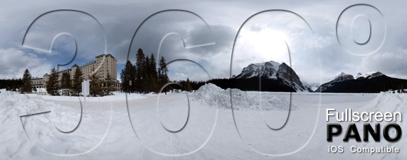 Lake Louise Pano Play Button
