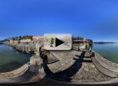 Bench by the Bay Pano Play Button