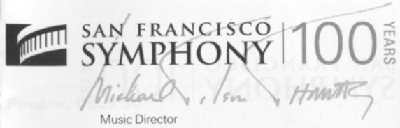 San Francisco Symphony 100 Years