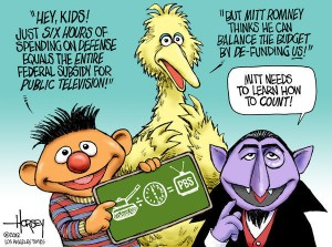 Big Bird Election Cartoon
