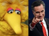 Big Bird and Mitt Romney