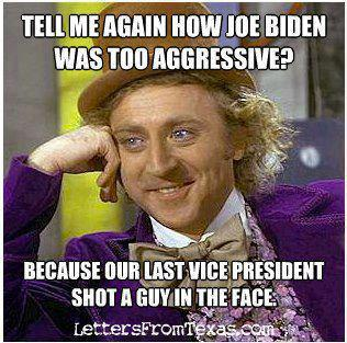 Aggressive VP - Really?