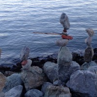 Balanced Stack of Rocks