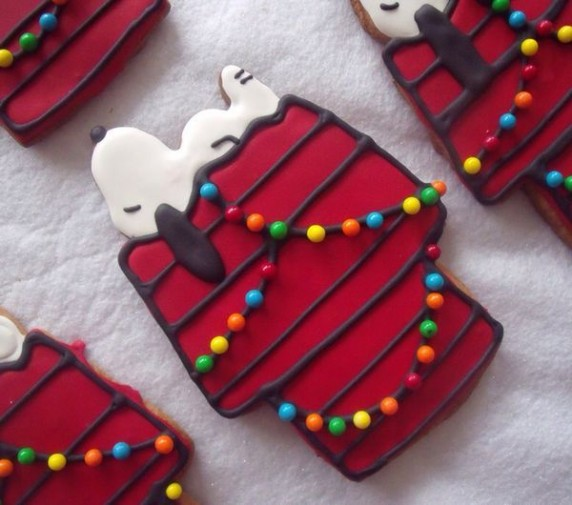Snoopy Cookies 572x505 photo in the post: Too Cute to Eat, at www.timtyson.us