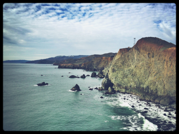 The north shore from Point Bonita