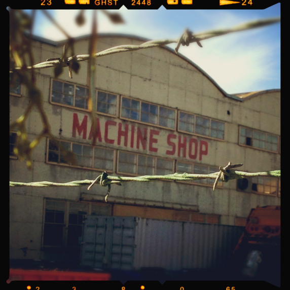 Liberty Way Machine Shop in Sausalito
