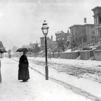 Shotwell Street (Mission District) Snow San Francisco 1887