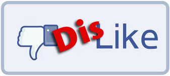 Dis-like Button (Facebook Style)