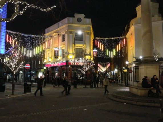 Covent Garden, London, New Year's Ever