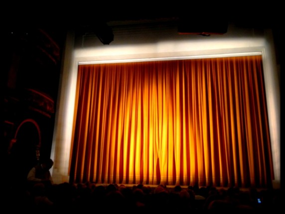 The Stage of the Aldwych Theatre in London's West End
