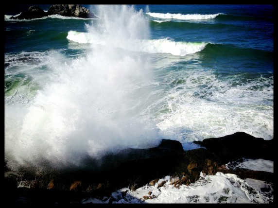 Ocean Surf at the Sutro Bath Ruins