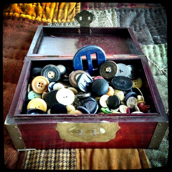 Aunt Helen's Box of Buttons - Button Collection
