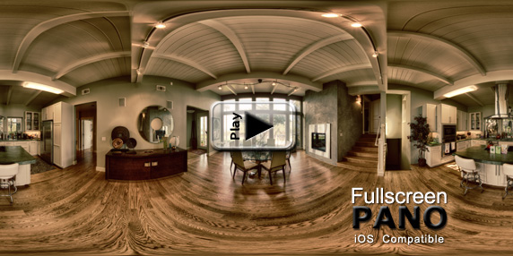 10mm HDR Indoor Surreal Granny's Attic Pano Play Button
