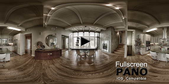 10mm HDR Indoor Surreal Pale & Structured Pano Play Button