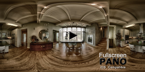 10mm HDR Indoor Surreal Sinister Pano Play Button