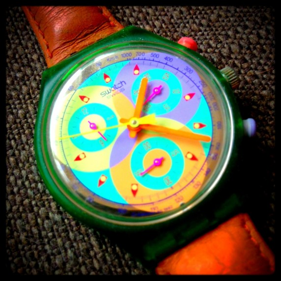 Vivid Colorful Swatch