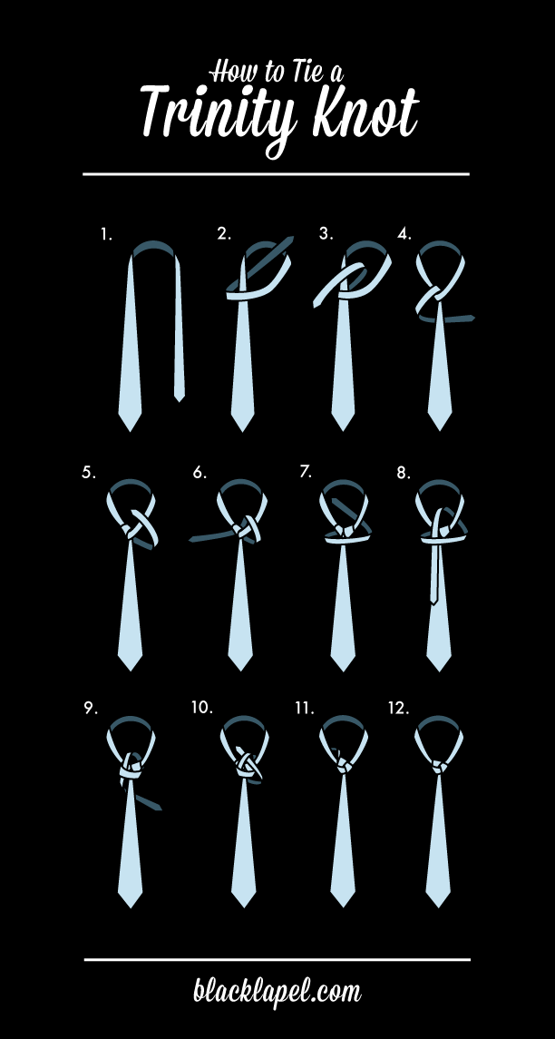 Who Knew Knotting A Tie Could Be So Interesting