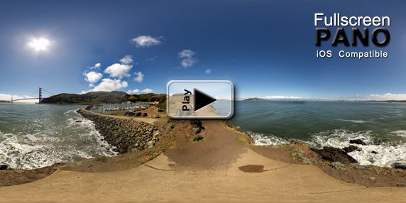 8mm Horseshoe Cove Point Pole Pano Play Button