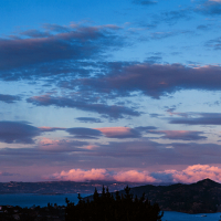 Sausalito Sunset from Our Front Yard