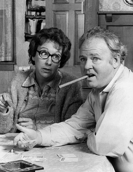 Jean Stapleton Carroll O'Connor: All In the Family